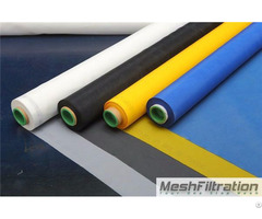 90t 230 Inch Polyester Printing Mesh Fabric Plain Weave Bolting Cloth