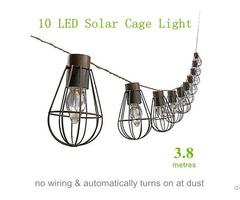 Solar Cage String Light