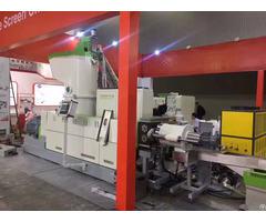 Plastic Recycling Equipment For Pp Pe Film Granulating And Pelletizing