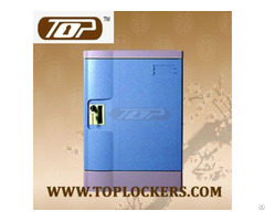 Four Tier Storage Locker Abs Plastic Multiple Locking Options