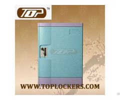 Four Tier Abs Plastic Beach Locker Strong Lockset For Security