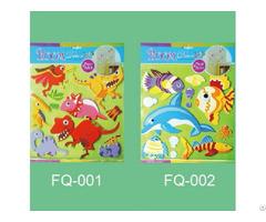 3d Eva Foam Multilayer Stickers Kids Craft Sticker