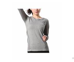 Women S Super Soft Function Seamless Workout Gym Run Yoga Sport Long Sleeve Top T Shirt