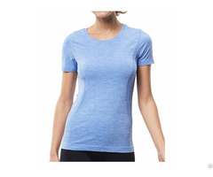 Women S Short Sleeve Sport Tee Moisture Wicking Athletic Shirt