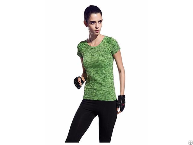 Women S Active Short Sleeve Crew Neck Shirts