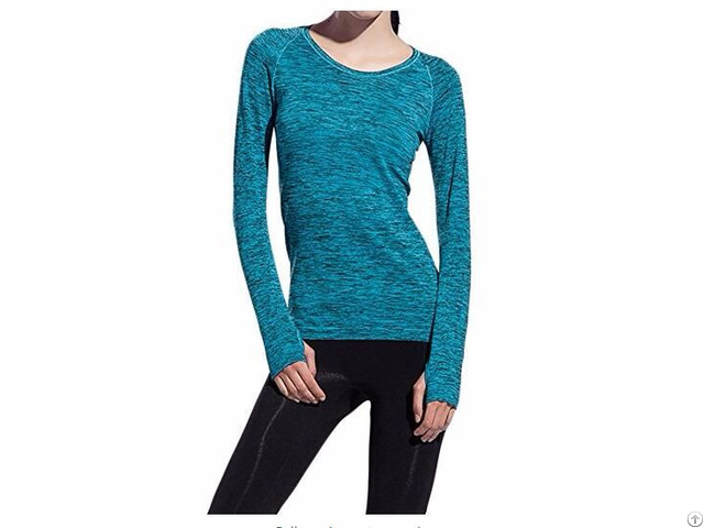 Women S Training Long Sleeve T Shirt Running Top Yoga Fitness Sweatshirt