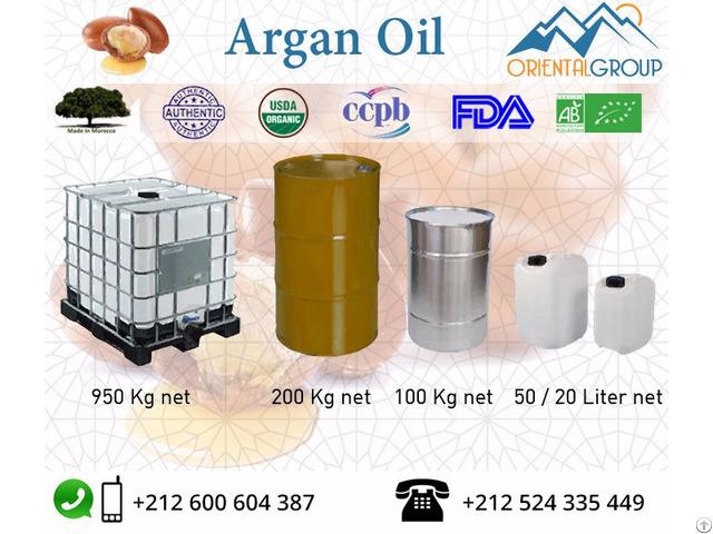 Pure And Certified Organic Argan Oil In Bulk