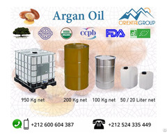 Pure And Certified Organic Argan Oil In Bulk