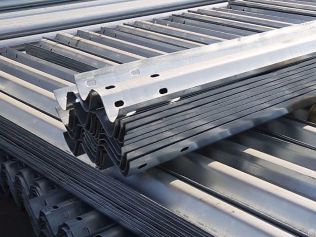 Steel W Beam Guardrail From China
