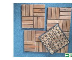 Interlocking Deck Tile From Vietnam