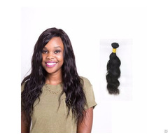 100% Unprocessed Peruvian Natural Wave Hair Weave