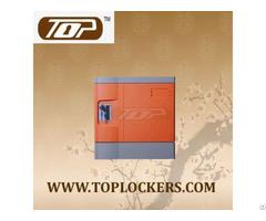 Six Tier Abs Plastic Club Locker Multiple Locking Options