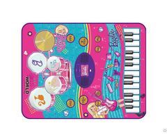 Barbie 2 In 1 Music Jam Mat
