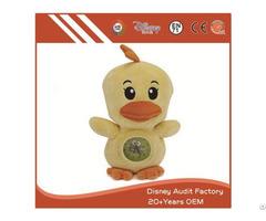 Alarm Clock Chicken Toy 100% Pp Cotton Fabric Pattern Printing