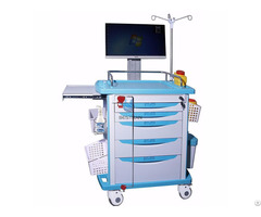 Luxurious All In One Wireless Nursing Computer Trolley