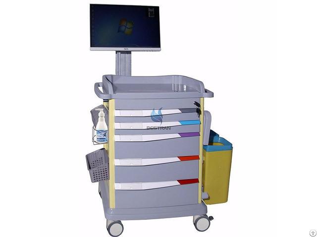 Luxurious Wireless Nursing Computer Trolley Bt Ly18