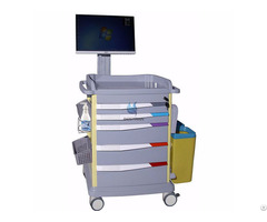Luxurious Wireless Nursing Computer Trolley Bt Ly18
