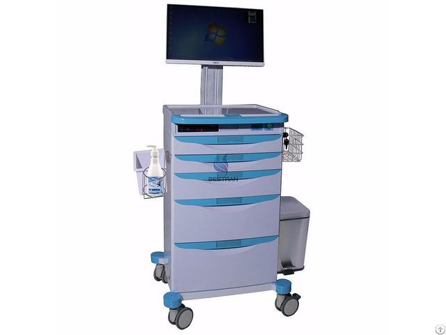 Luxurious Wireless Nursing Computer Trolley