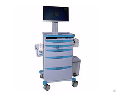 Luxurious Wireless Nursing Computer Trolley