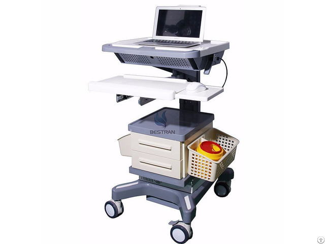 Luxurious Wireless Nursing Computer Trolley Bt Ly15