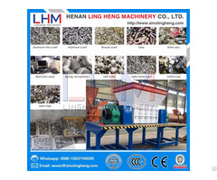 Plastic Bottles Shredder Waste Shredding Recycling Machine