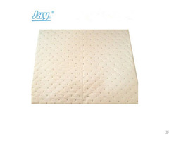 100% Pp Melt Blown Oil Absorbent Pads For Quick Cleanup Of Spill