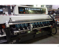 Sanken 10 Spindles Glass Straight Line Beveling Machine With Plc Control