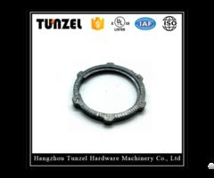 High Quality Zinc Spiral Rigid Lock Nut By Manufacturer