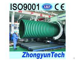 Large Diamater Corrugated Pipe Extrusion Line
