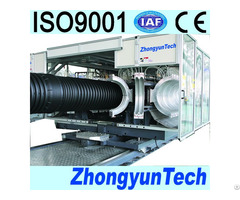 Corrugated Plastic Pipe Machine Zc 1000h