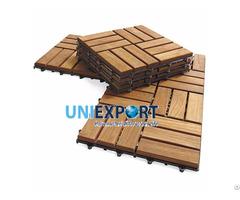 Eco Friendly Wooden Deck Tiles