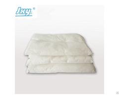 Spill Cleanup Absorbent Pillow Materials