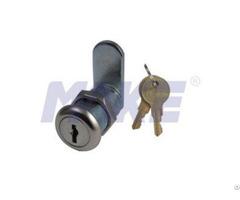 Wafer Key Cam Lock 29 2mm Zinc Alloy Shiny Chrome