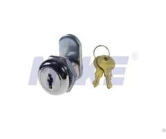 Zinc Alloy Small Wafer Key Cam Lock Shiny Chrome