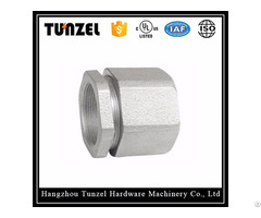 Rigid Malleable Iron Three Piece Type Coupling By Chinese Supplier