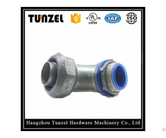 Liquid Tight Flexible Conduit Duct 90 Degree Elbow Angle Connector