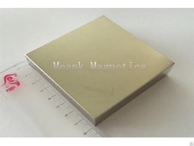 N52 Big Block Magnet 80x80x10mm