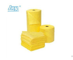Yellow Chemical Absorbent Roll