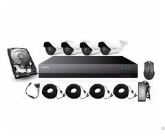 Mapesen 4ch Starlight 2 4mp Outdoor Camera With Xvr Diy Kit