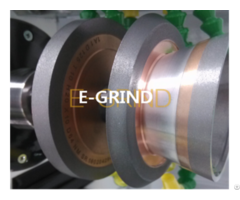 Hybrid Wheel For Carbide Cutting Tool