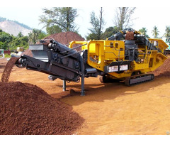 Low Investment Ore Mobile Cone Crusher