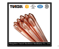 China Suppliers Steel Copper Ground Rod By Clad Plated
