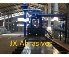 Plate And Structure Cleaning Shot Blasting Machine