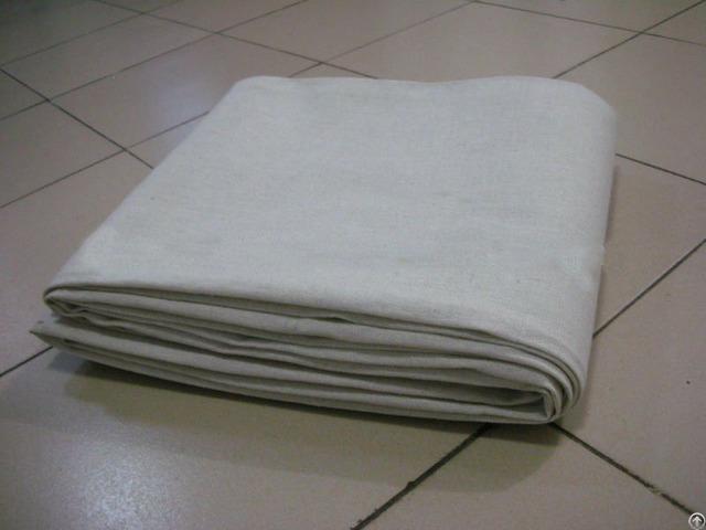 Canvas Drop Cloth Grey Fabric