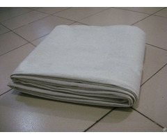 Canvas Drop Cloth Grey Fabric