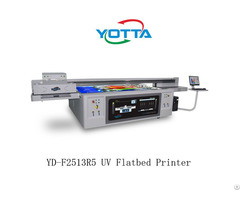 Yd F2513r5 Yotta Uv Printing Machine Digital Inkjet Flatbed Pritner