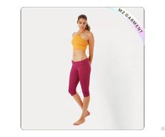 Women Blazing Yellow Yoga Suit
