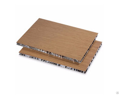 Wooden Panel Sandwich Aluminum Honeycomb Core