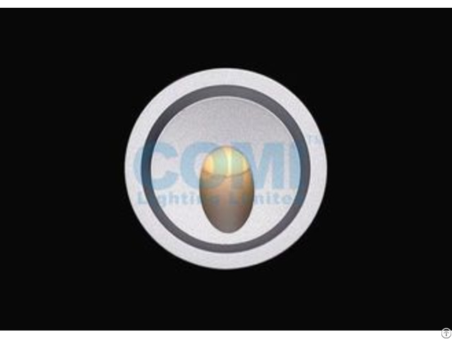 Single Color Rgb Rgbw 3w Led Round Step Lights Indoor Or Outdoor