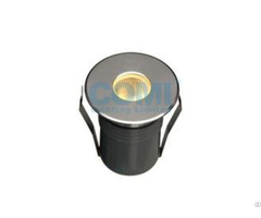 Mini Type 5w Cob Led Inground Light Round Front Ring Install By Mounting Sleeve